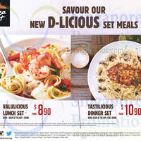 Read more about Pizza Hut New Lunch Set Meals fr $8.90 & Dinner Set Meals fr $10.90 From 21 Oct 2015
