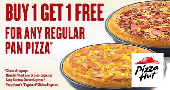 Pizza Hut Feat 1for1 6 Apr 2016