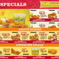 Read more about Popeyes Dine-in Discount Coupons 1 Oct - 15 Nov 2015