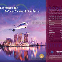 Read more about Qatar Airways fr $685 all-in Return Promo Fares 21 - 31 Oct 2015