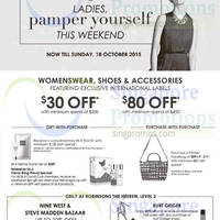Robinsons Womenswear, Shoes & Accessories 9 - 18 Oct 2015