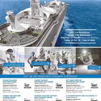 Royal Caribbean Roadshow @ Suntec City 13 - 18 Oct 2015