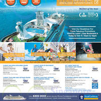 Royal Caribbean Roadshow @ Vivocity 9 - 11 Oct 2015