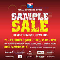 Read more about Royal Sporting House Sample SALE @ Wisma Gulab 28 - 29 Oct 2015