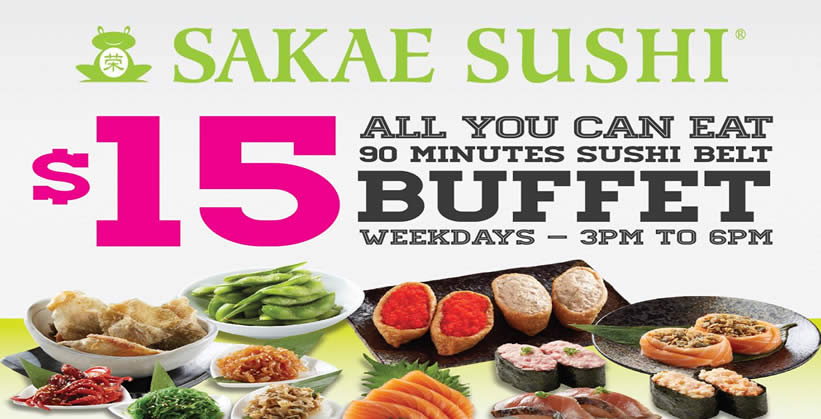 Sakae Sushi Feat 12 Oct 2015