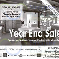 Read more about Sansei Up To 70% OFF Sale 2 - 4 Oct 2015