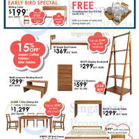 Scanteak Furniture Sale @ Isetan Scotts 9 - 18 Oct 2015