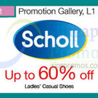 Scholl Casual Shoes Promotion @ Nex 7 - 12 Oct 2015