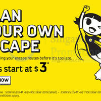Read more about Scoot fr $3 Promo Fares 14 - 17 Oct 2015