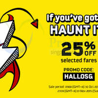 Read more about Scoot 25% Off Fares Promo Code 30 Oct - 1 Nov 2015