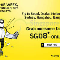 Read more about Scoot fr $8 2hr Promo Air Fares (7am to 9am) 13 Oct 2015