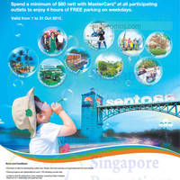 Sentosa FREE Weekday Parking Promotion 7 - 31 Oct 2015