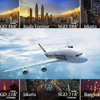 Singapore Airlines fr $168 Promo Fares 4 Oct 2015 - 31 Mar 2016