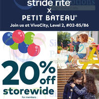 Read more about Stride Rite 10% Off Storewide From 16 Oct 2015