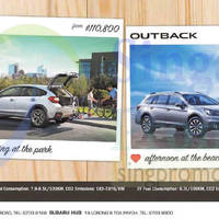 Read more about Subaru Forester, XV & Outback Offers 3 Oct 2015
