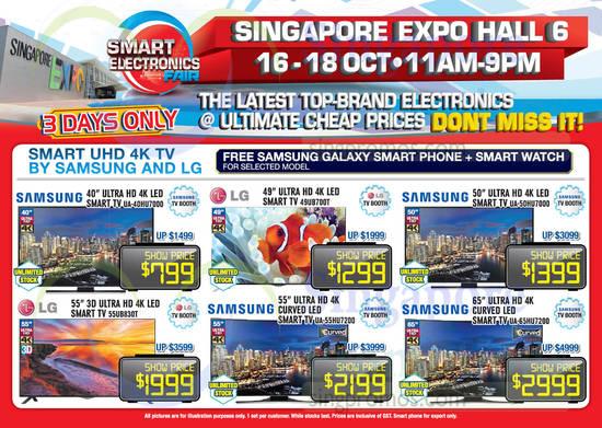 Samsung UA40HU7000 TV, LG 49UB700T TV, Samsung UA50HU7000 TV, LG 55UB830T TV, Samsung UA55HU7200 TV, Samsung UA65HU7200 TV