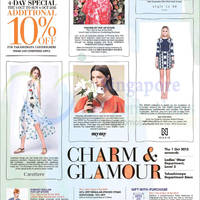 Read more about Takashimaya 22% Off Selected Ladies' Fashion Brands 2 - 4 Oct 2015