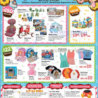 Takashimaya Trendy Tot Treasures Kids Activities & Promotions 9 - 18 Oct 2015