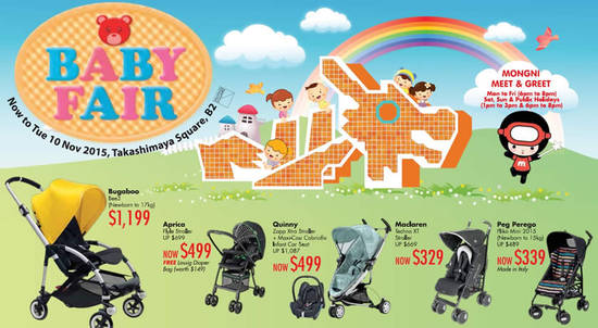 Takashimaya Baby Fair Feat 28 Oct 2015