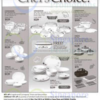 Corelle, Corningware & Pyrex Cookware Offers @ Tangs 9 Oct - 3 Nov 2015