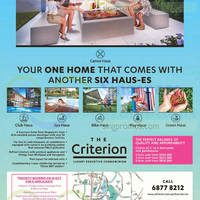Read more about The Criterion Luxury Executive Condominium 10 Oct 2015