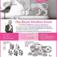 Read more about The Royal Doulton 200 Years Celebration Event 2 - 4 Oct 2015