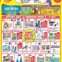 "Read more about Toys ""R"" Us Opening Offers @ Paragon 3 - 4 Oct 2015"