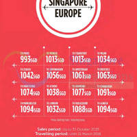 Read more about Turkish Airlines fr $993 Europe Promo Fares 6 - 31 Oct 2015