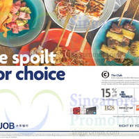 Read more about The Club Dining Offers For UOB Cardmembers 9 Oct 2015 - 31 Mar 2016