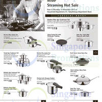 Read more about WMF Steaming Hot Sale Offers @ Takashimaya 31 Oct - 12 Nov 2015