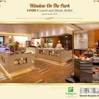 Read more about Window On The Park 1-for-1 Buffet For NTUC Cardmembers 2 Oct - 30 Nov 2015