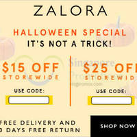 Read more about Zalora $15 to $25 OFF ($100 Min Spend) Storewide Coupon Code 29 Oct - 2 Nov 2015