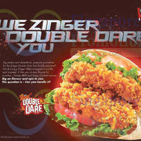 Read more about KFC New Zinger Double Dare & Sour Cream Turkey Bacon Fries From 20 Oct 2015