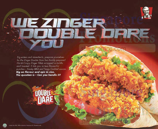 Zinger Double Dare