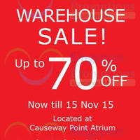 Read more about Black Hammer & Anna Black Warehouse Sale @ Jurong Point 11 - 15 Nov 2015