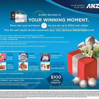 Read more about ANZ Spend & Win Up To $300 Cash Rebate 19 Nov 2015 - 14 Feb 2016