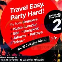 Read more about Air Asia fr $2 Promo Fares 16 - 22 Nov 2015