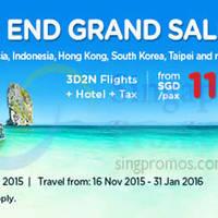 Read more about Air Asia Go 3D2N fr $115/pax (Flights, Hotel & Taxes inc.) 16 - 29 Nov 2015