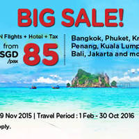 Read more about Air Asia Go 3D2N fr $85/pax (Flights + Hotels + Taxes ) 23 - 29 Nov 2015