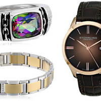 Read more about Amazon Up to 70% Off Men's Jewellery & Watches Gifts 24hr Promo 17 - 18 Nov 2015