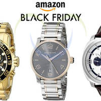 Amazon Up to 70% Off Top Watch Brands (till 4pm) 25 Nov 2015