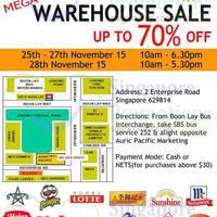 Read more about Auric Pacific Mega Warehouse Sale 25 - 28 Nov 2015