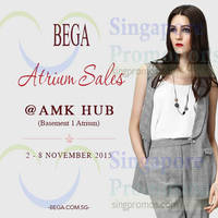 Read more about Bega Atrium Sale @ AMK Hub Mall 2 - 8 Nov 2015