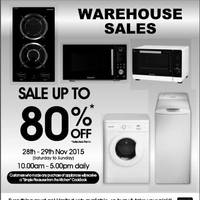 Read more about Brandt Warehouse Sale 28 - 29 Nov 2015