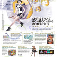 Read more about Bugis Junction & Bugis+ Christmas Homecoming Redefined 15 Nov - 31 Dec 2015