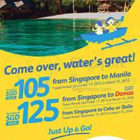 Read more about Cebu Pacific fr $105 Promo Fares 17 - 20 Nov 2015