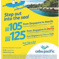 Read more about Cebu Pacific fr $105 Promo Fares 21 - 23 Nov 2015
