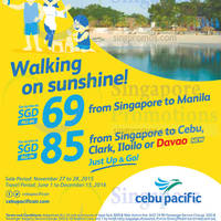 Read more about Cebu Pacific fr $69 Promo Fares 27 - 28 Nov 2015