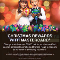 Read more about Christmas On A Great Street MasterCard Promotion @ Orchard Road 14 Nov 2015 - 3 Jan 2016
