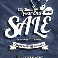 Read more about City Music Year End Sale 21 Nov - 31 Dec 2015